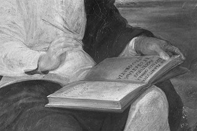 altrospazio fotografia, la riflettografia all'Infrarosso (IR) è un potente strumento di studio delle pennellate dell'artista e dei suoi pentimenti