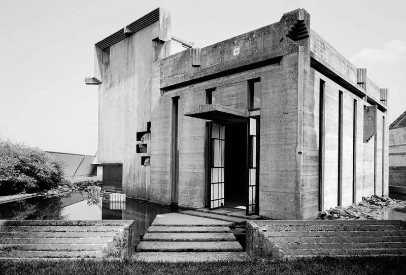 altrospazio fotografia, la Tomba Brion progettata da Carlo Scarpa