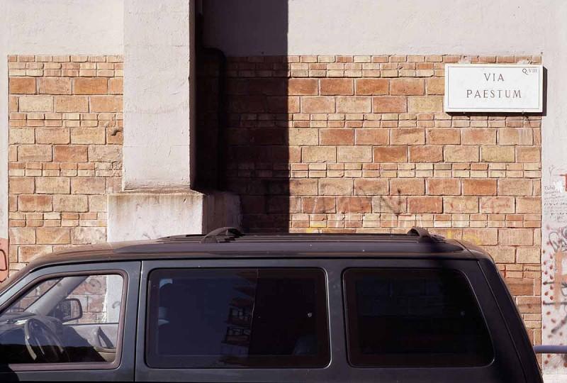 altrospazio fotografia, Piani di una sequenza, quartiere Tuscolano, Roma