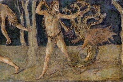 altrospazio fotografia, Villa Farnesina, sala del Fregio di Baldassarre Peruzzi, parete Nord
