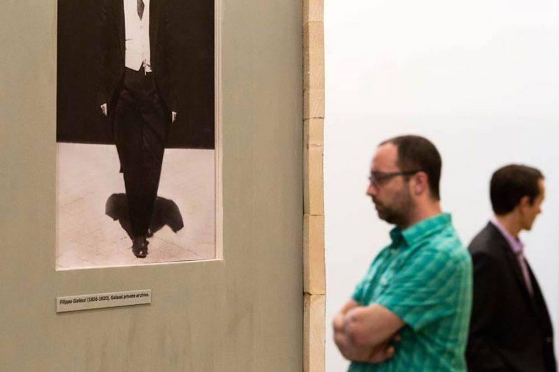 altrospazio fotografia, installazione della mostra Building an Idea presso l'Accademia Americana di Roma